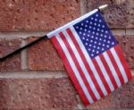 HAND WAVING FLAG (SMALL) - USA